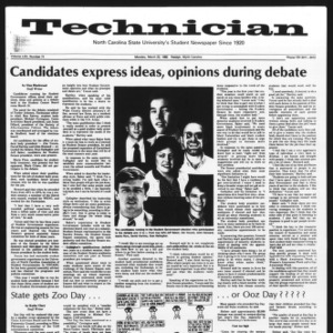Technician, Vol. 62 No. 71, March 22, 1982