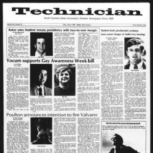 Technician, Vol. 62 No. 76, April 2, 1982