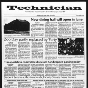 Technician, Vol. 62 No. 78, April 7, 1982