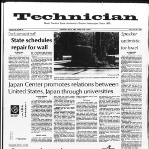 Technician, Vol. 62 No. 83, April 21, 1982