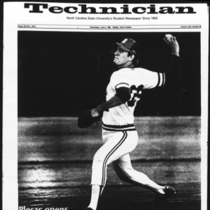 Technician, Vol. 63 No. 88 [Vol. 62 No. 89], June 2, 1982