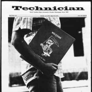 Technician, Vol. 63 No. 90 [Vol. 62 No. 91], June 16, 1982