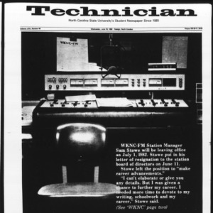 Technician, Vol. 63 No. 90 [Vol. 62 No. 92], June 16, 1982