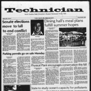 Technician, Vol. 64 No. 1, August 26, 1982