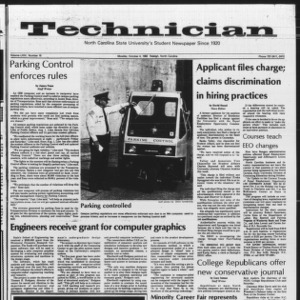 Technician, Vol. 64 No. 16, October 4, 1982