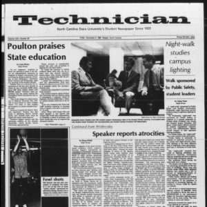 Technician, Vol. 64 No. 29, November 5, 1982