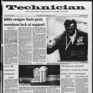 Technician, Vol. 64 No. 40, December 3, 1982