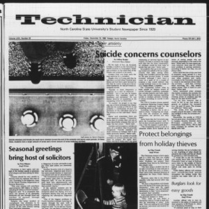 Technician, Vol. 64 No. 43, December 10, 1982