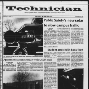 Technician, Vol. 64 No. 46, January 14, 1983