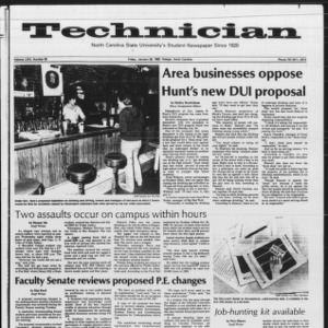 Technician, Vol. 64 No. 52, January 28, 1983