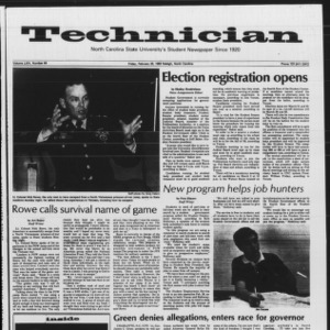 Technician, Vol. 64 No. 64, February 25, 1983
