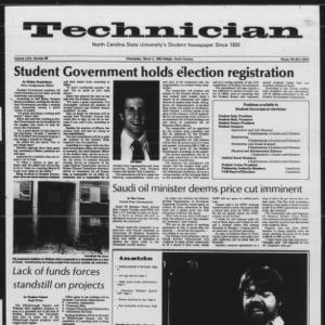Technician, Vol. 64 No. 66, March 2, 1983