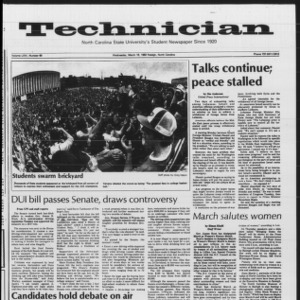 Technician, Vol. 64 No. 69 [70], March 16, 1983