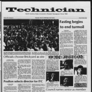Technician, Vol. 64 No. 72 [73], March 23, 1983