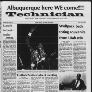 Technician, Vol. 64 No. 74 [75], March 28, 1983