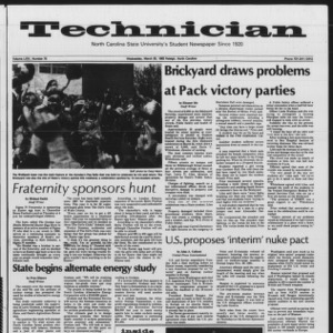 Technician, Vol. 64 No. 75 [76], March 30, 1983