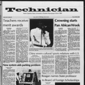 Technician, Vol. 64 No. 78 [68], April 8, 1983