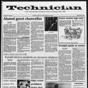 Technician, Vol. 64 No. 8, September 15, 1982