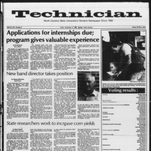 Technician, Vol. 64 No. 9, September 17, 1982