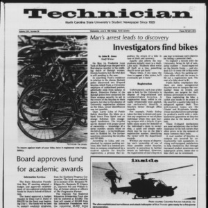 Technician, Vol. 64 No. 90, June 8, 1983