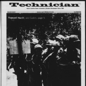 Technician, Vol. 64 No. 97, August 3, 1983