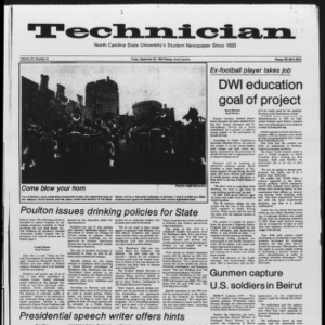 Technician, Vol. 65 No. 15, September 30, 1983