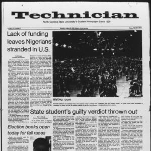 Technician, Vol. 65 No. 2, August 29, 1983