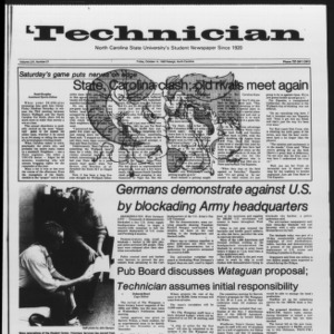Technician, Vol. 65 No. 21, October 14, 1983