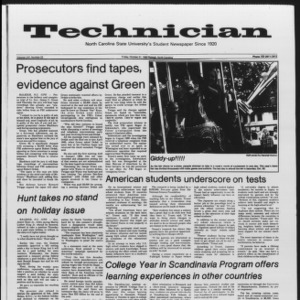 Technician, Vol. 65 No. 23, October 21, 1983