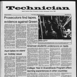 Technician, Vol. 65 No. 23, October 21, 1983