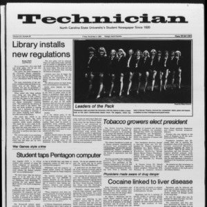 Technician, Vol. 65 No. 29, November 4, 1983