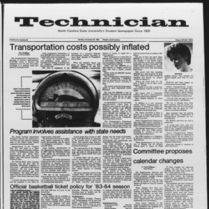 Technician, Vol. 65 No. 38, November 28, 1983