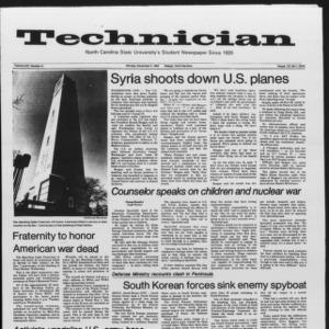 Technician, Vol. 65 No. 41, December 5, 1983
