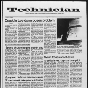 Technician, Vol. 65 No. 42, December 7, 1983
