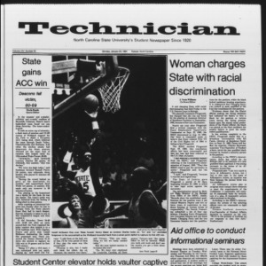 Technician, Vol. 65 No. 50, January 23, 1984