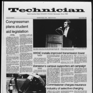 Technician, Vol. 65 No. 54, February 1, 1984