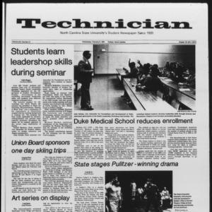 Technician, Vol. 65 No. 57, February 8, 1984