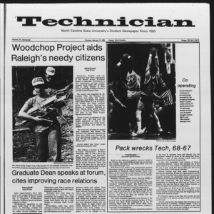 Technician, Vol. 65 No. 59, February 12, 1984