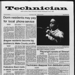 Technician, Vol. 65 No. 61, February 17, 1984