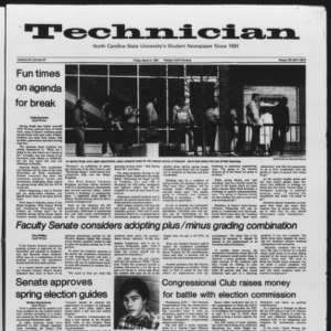 Technician, Vol. 65 No. 67, March 2, 1984