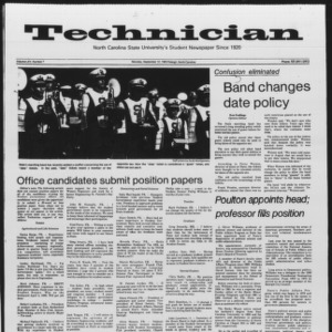 Technician, Vol. 65 No. 7, September 12, 1983