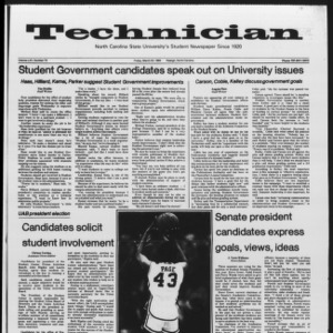 Technician, Vol. 65 No. 73, March 23, 1984