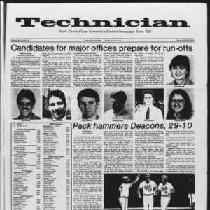 Technician, Vol. 65 No. 76, March 30, 1984