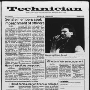 Technician, Vol. 65 No. 77, April 2, 1984