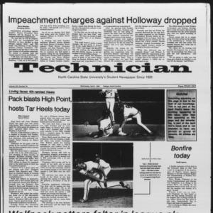 Technician, Vol. 65 No. 78, April 4, 1984