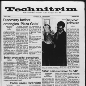 Technician, Vol. 65 No. 78, April 4, 1984