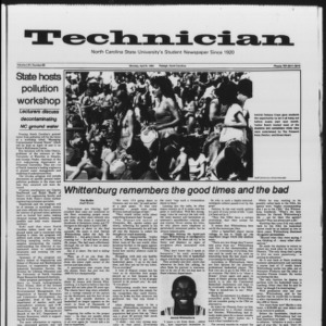 Technician, Vol. 65 No. 80, April 9, 1984