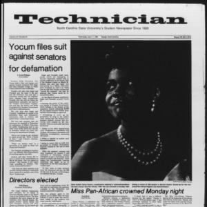 Technician, Vol. 65 No. 81, April 11, 1984