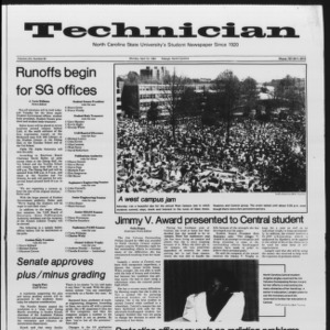 Technician, Vol. 65 No. 83, April 16, 1984