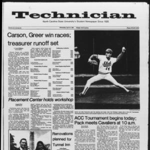 Technician, Vol. 65 No. 84, April 18, 1984